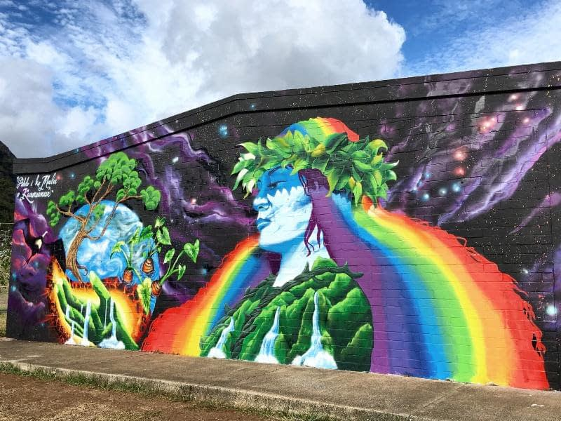 Mele Murals at Jarrett Middle School