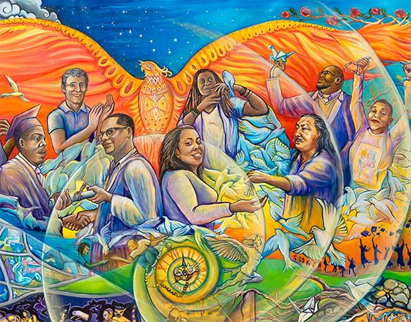 Juana Alicia – From Incarceration to Liberation Mural