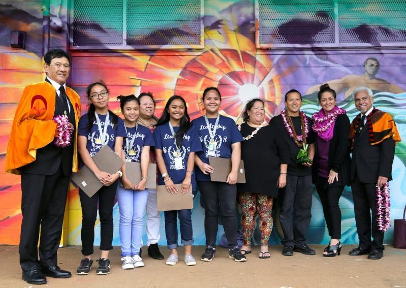 Happy New Year & King David Kalākaua Middle School
