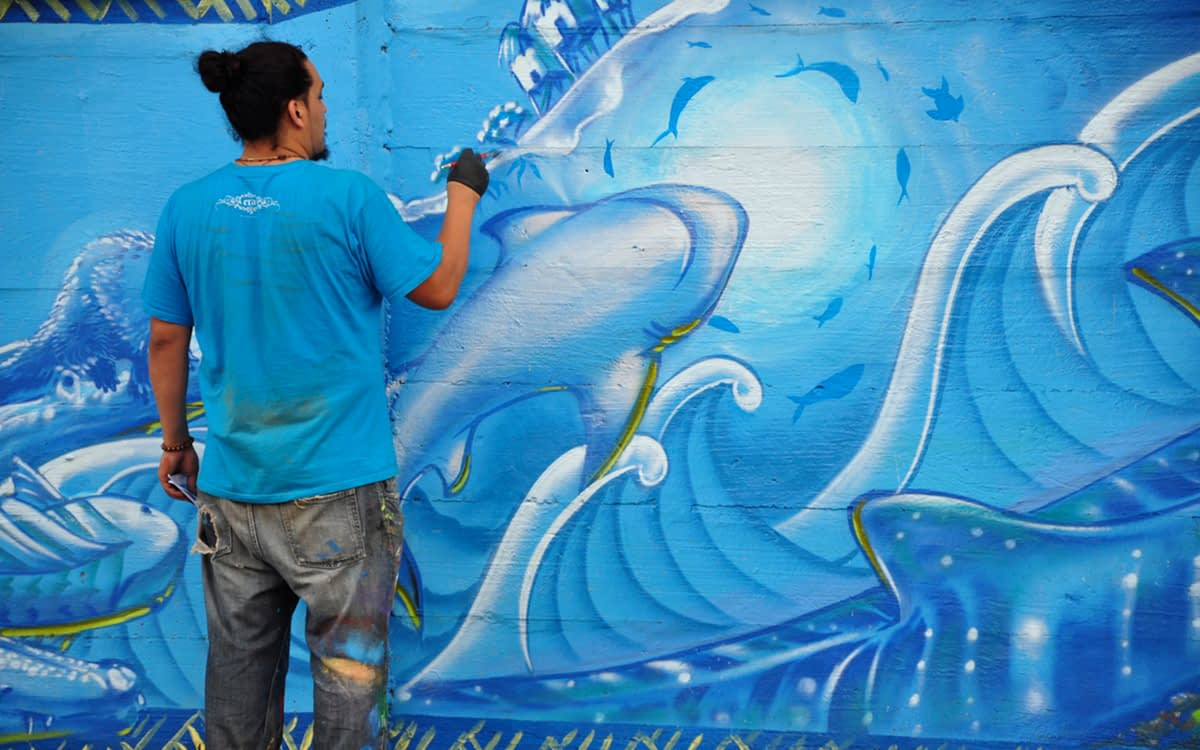 Water Writes Palawan, Phillipines